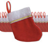 "Wholesale Mini Christmas Stockings |  Knit 5"" 12 PACK Set Bulk 9223C"