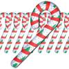Candy Cane Inflates Bulk 12 PK 4 FT Tall 9224D