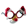 Santa Hat and Mustache Glasses 12 PACK 7330