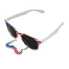 American USA Mustache Sunglasses 7094