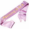 "Custom Made Personalized Sash | Prom Queen Sash | Bach Party Sashes Satin Quality  60"" (Fonts in Picture Gallery)"