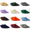 European Vacation, Berets, Customized or Monogrammed Custom Beret, Pick Your Color and Custom Text  100% Wool (Fonts in Picture Gallery)
