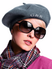 Monogrammed Beret | Valentines Gifts for Her | French Beret Hat (Fonts in Picture Gallery)