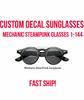 Custom Steampunk Glasses | Halloween Steampunk Glasses 15057