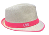 Custom Fedora Hats | Custom Fedoras | Fedora Hats for Men | (Fonts in Picture Gallery)