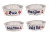 "Sailor Hats Customized, 100% Cotton with Personalized Text |  Adult Size 22.5"" Standard 15072"
