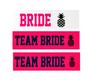 Customizable Headband. Personalized Gifts For Teams (Fonts in Picture Gallery)