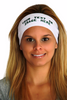 College Team Headbands, Personalized Headband (Fonts in Picture Gallery)
