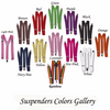 Personalized Suspenders, Groom Suspenders | Adult & Kids Sizes 15032 (Fonts in Picture Gallery)