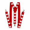 Valentines Day Suspenders Customized 15036