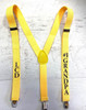 Suspenders, Personalized in Many Colors for Waitesses, Bars, Events and Charity Events 15039 | (Fonts in Picture Gallery)