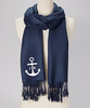 Monogrammed Scarf  | Personalized Scarf |  Bridesmaid Pashmina | (Fonts in Picture Gallery)