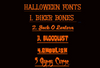 """Halloween Sashes 