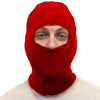12 PACK Red One Hole Knit Ski Mask 3068D