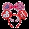 Valentines Day Disney Ears Headband Personalized