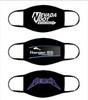 Customized Face Masks | 100% Cotton Adult Size 10+ Colors Double Layer Soft Cotton Elastic Ear Straps No Minimum