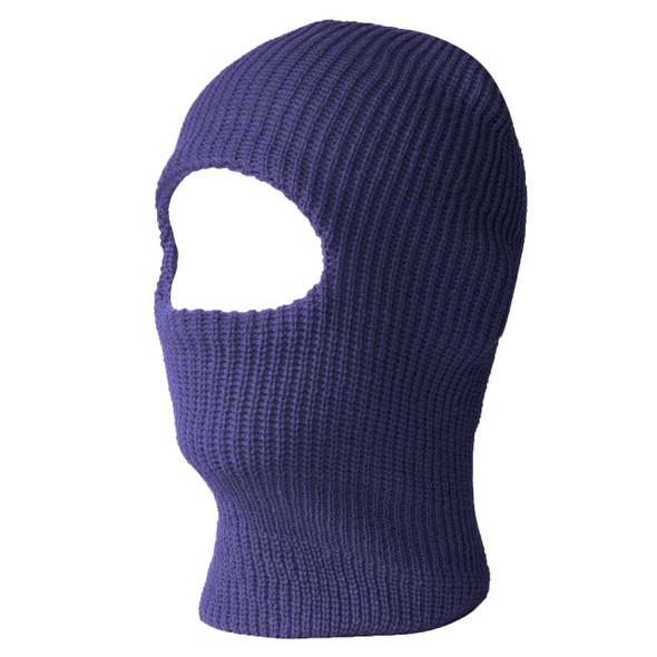 12 PACK Navy Blue  One Hole Knit Ski Mask 3068NB