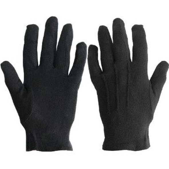 12 PACK Black Child Costume Gloves PAIR 5031