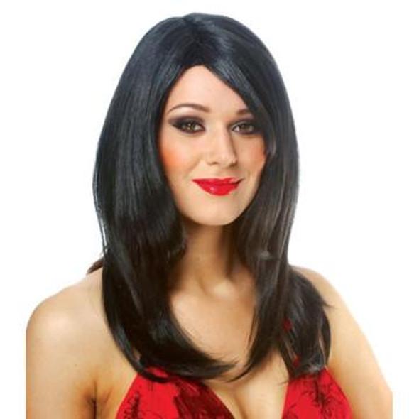 Black Curls DIVA Wig 6053