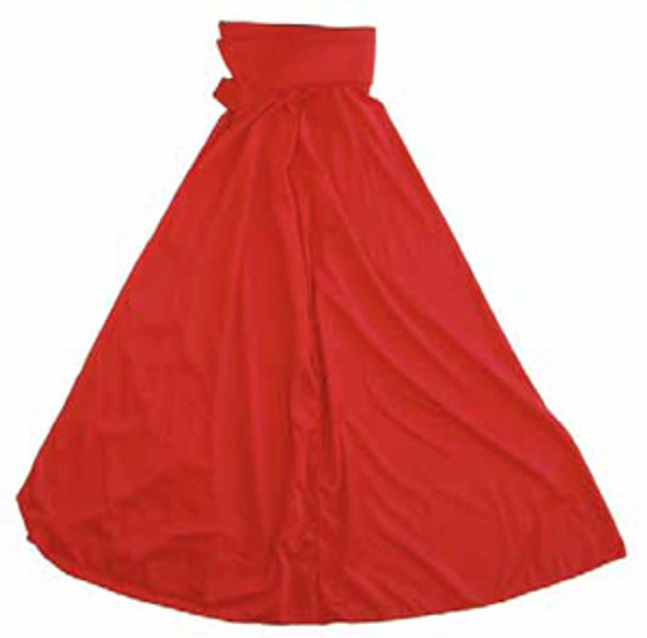 """Child Red Costume Cape 27"""" 4522"""