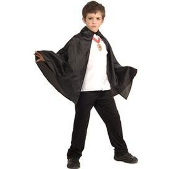 Child Costume Cape Black 27' 4525