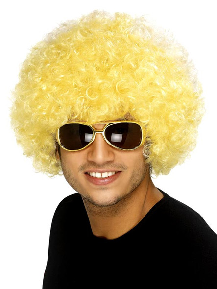Yellow Afro Wig 6011