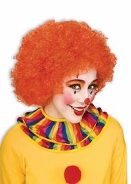 Orange Afro Wig 6013
