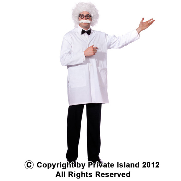 Einstein Wig and Mustache 6021