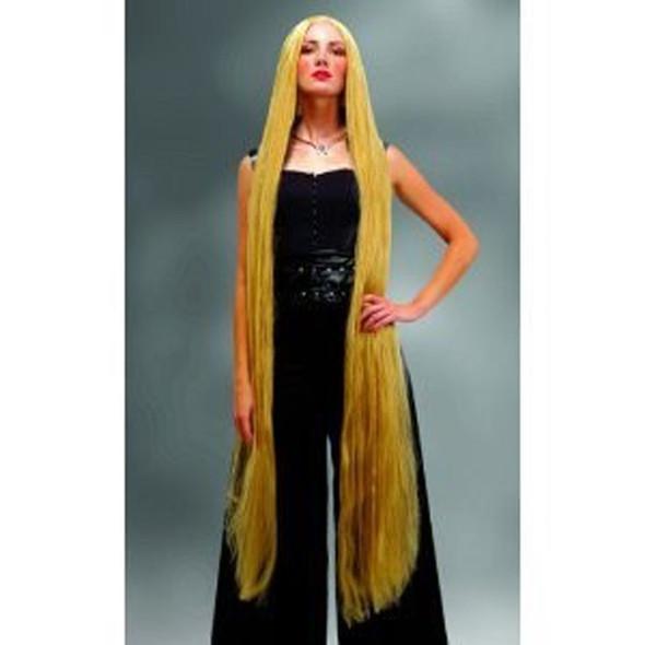 Extra Long Rapunzel 60 Inch 5 FEET Blonde Wig 6025