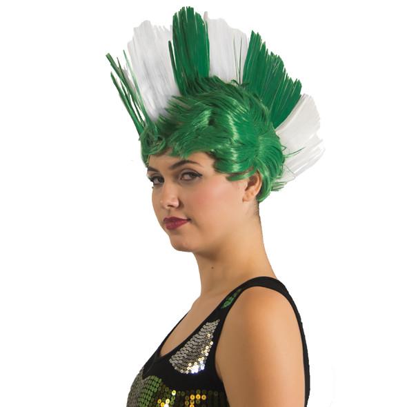 Irish Mohawk Wig 6029
