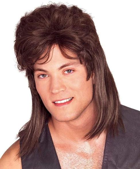 Brown Mullet Wig 6041