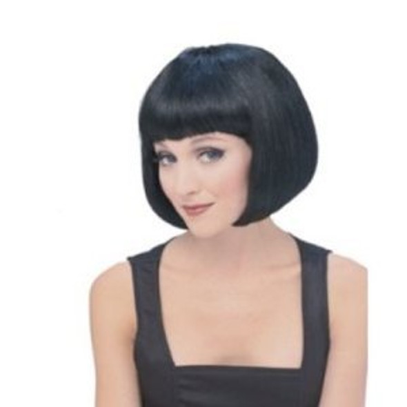 Black Bob Wig Short Wig Costume Supermodel  6042