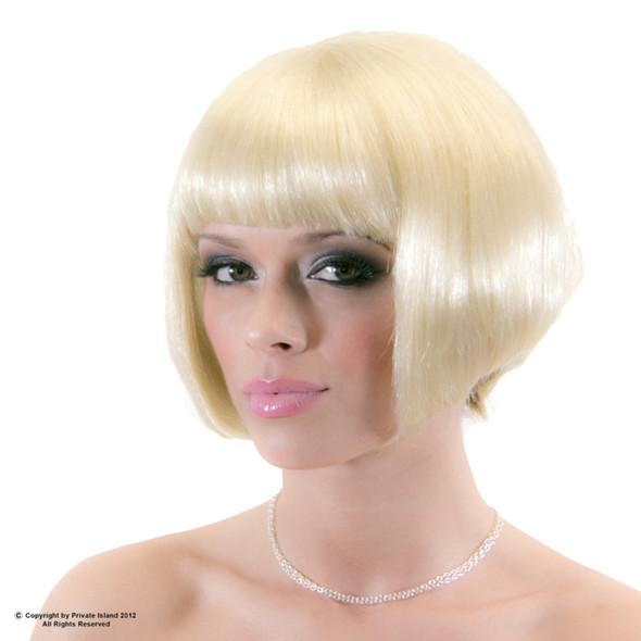 Blonde Bob Wig Short Wig Costume Supermodel  6043