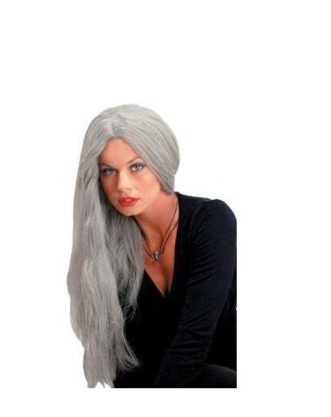 Wicked Straight Wig Grey 24 Inch 6048