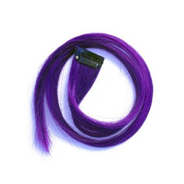 Purple Hair Extensions 6152