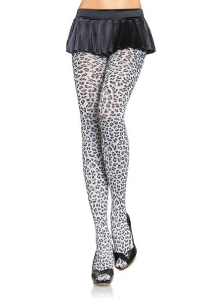 Leopard Print Leggings 8018