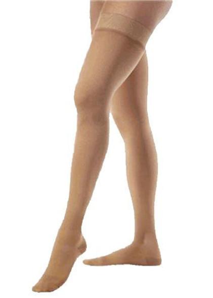 Beige Sheer Thigh High Stockings 12 PACK 8023