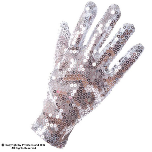 Pop Star Half Glitter Glove  Adults and Kids Sizes 12 PACK 1227