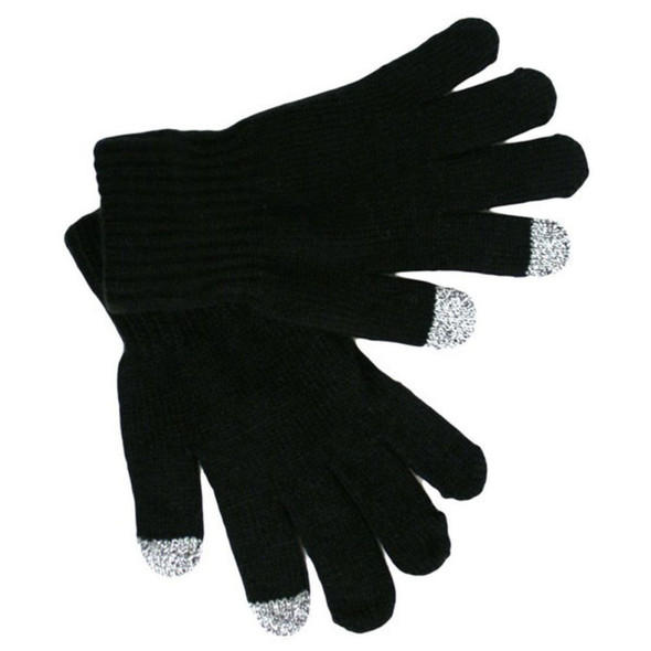 Smartphone Texting Gloves Wholesale 12PK | Cell Phone Texting Gloves Bulk Black  5047