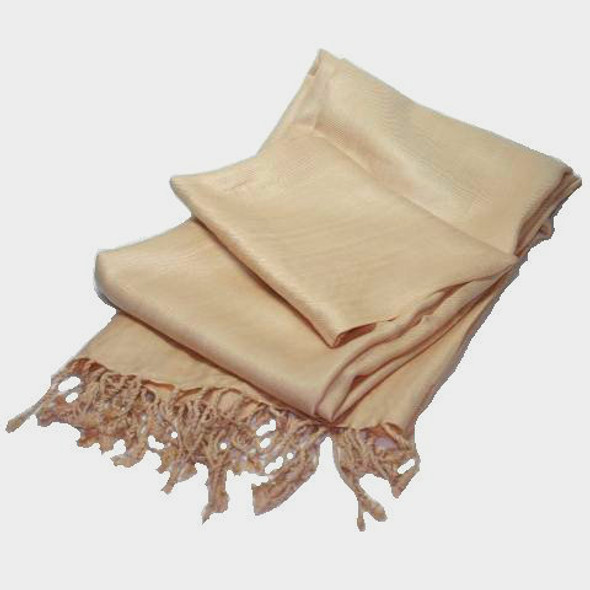 Camel Pashmina Shawl 100% Fine Wool Mix 12 PACK 2119