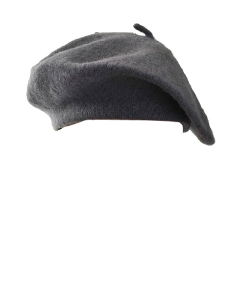 "Grey Beret Wool 22.5"" Standard Adult Size 1366"