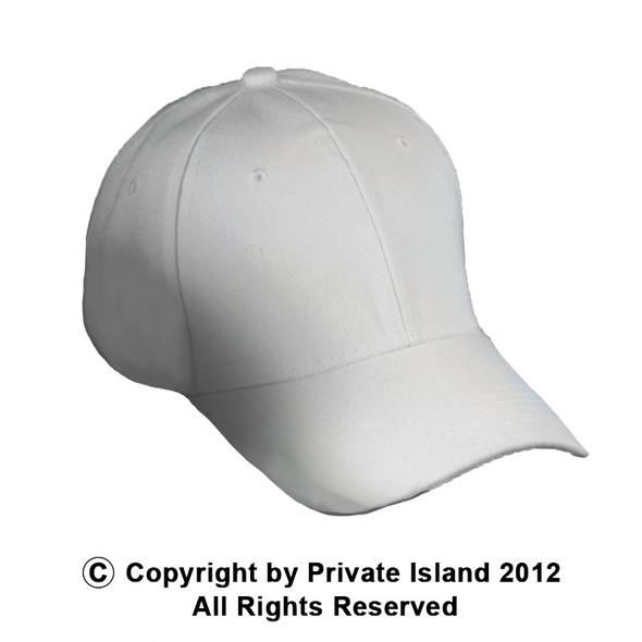 Wholesale Baseball Hats | White Dad Hats | 1381