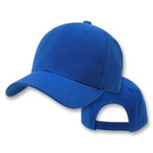 Royal Blue Adjustable Baseball Dad Cap 1384