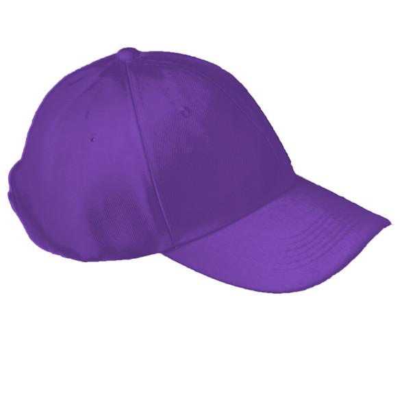 Purple Adjustable Baseball Dad Cap 1385