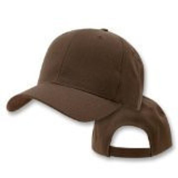 Brown Adjustable Baseball Dad Cap 1386