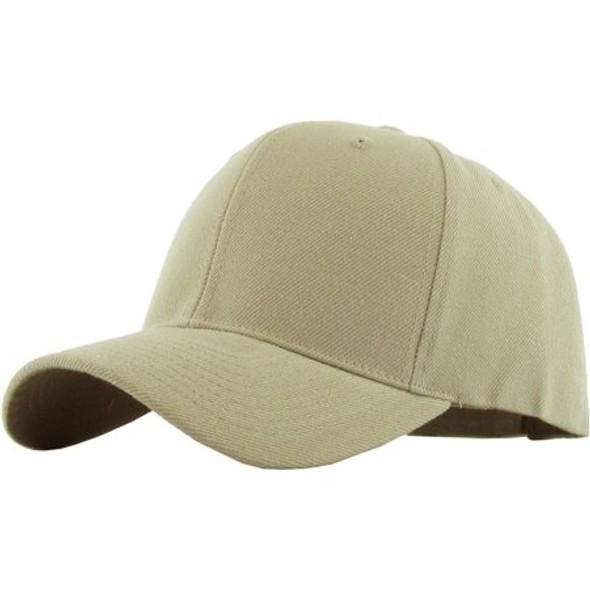Dad Cap Khaki Adjustable Baseball Cap 1387