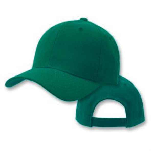 Green Adjustable Baseball Dad Cap 1388