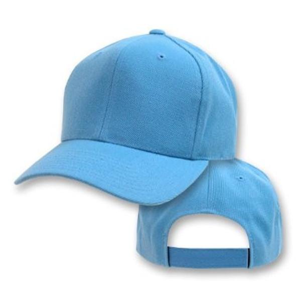 Sky Blue Adjustable Baseball Dad Cap 1390