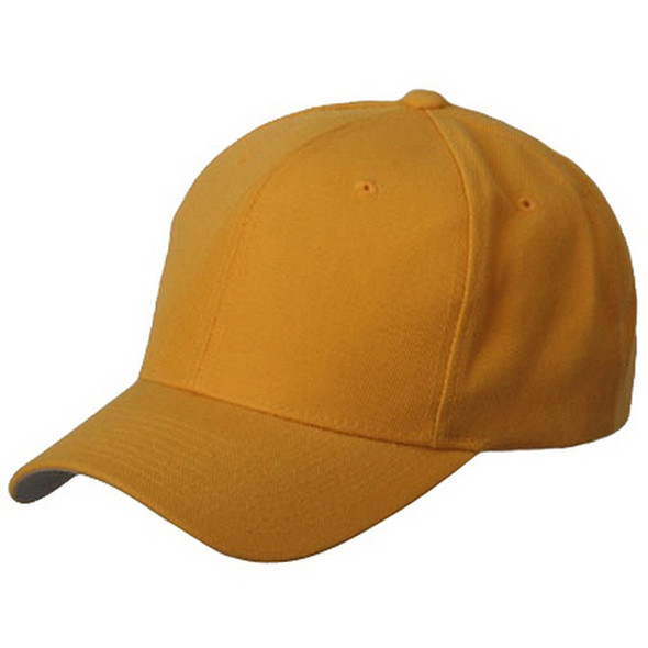 Yellow Adjustable Baseball Cap 1392