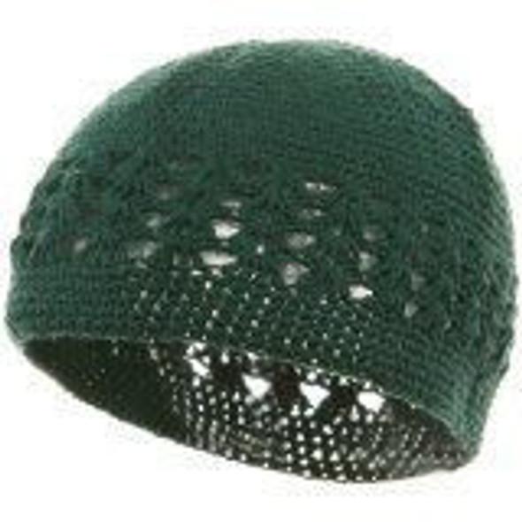 Kufi Crochet Beanies Green 1473